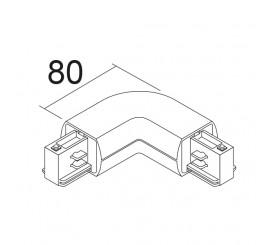 LKM OVAL 3~ | Verbinder 90° aussen