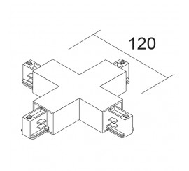 LKM ECKIG 3~ | Verbinder 'X'